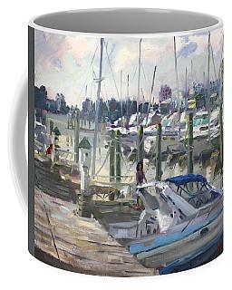 Late Afternoon In Virginia Harbor Coffee Mug