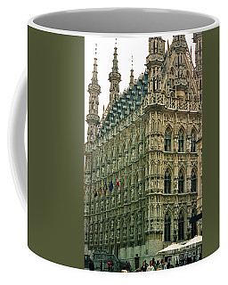 Late Gothic Town Hall Leuven Belgium Coffee Mug