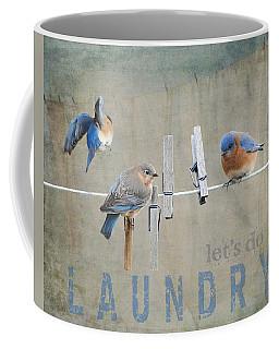 Laundry Day - Lets Do Laundry Coffee Mug by Jai Johnson