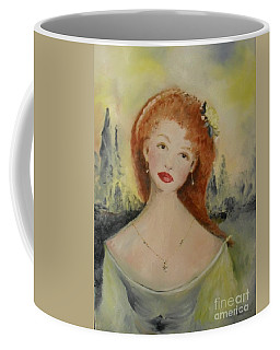 Coffee Mug featuring the painting Laurel by Laurie Lundquist