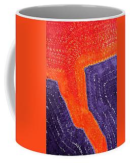 Lava Flow Original Painting Coffee Mug