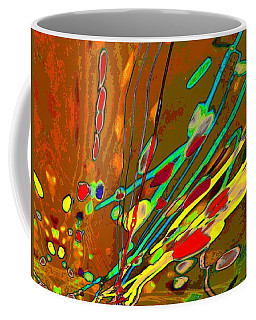 Lava Splash On Venus Abstract Coffee Mug