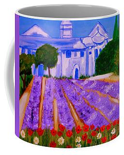 Lavande A St Paul De Mausole  St Remy De Provence Coffee Mug