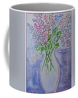 Lavendar  Flowers Coffee Mug