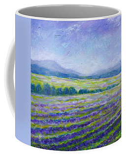 Lavender Field In Provence Coffee Mug