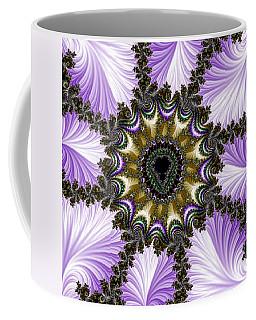 Lavender Fractal Coffee Mug