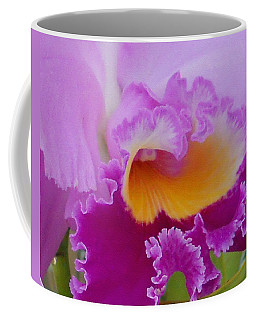 Lavender Orchid Coffee Mug by Aimee L Maher Photography and Art Visit ALMGallerydotcom