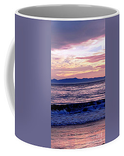 Coffee Mug featuring the photograph Lavender Sea by Sue Halstenberg