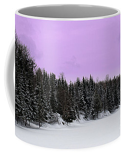 Coffee Mug featuring the photograph Lavender Skies by Bianca Nadeau