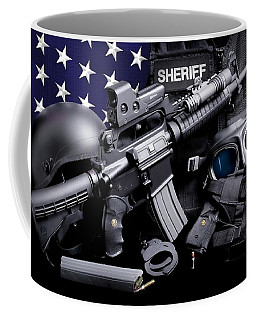 Law Enforcement Tactical Sheriff Coffee Mug