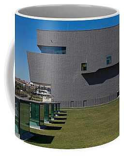 Lawn At A Museum, Disseny Hub Barcelona Coffee Mug