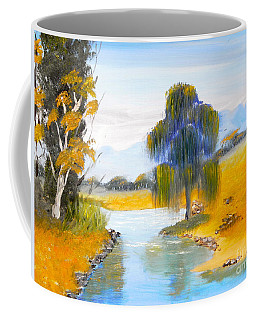Coffee Mug featuring the painting Lawson River by Pamela  Meredith