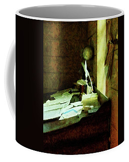 Lawyer - Desk With Quills And Papers Coffee Mug by Susan Savad