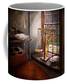 Lawyer - Scales Of Justice Coffee Mug by Mike Savad