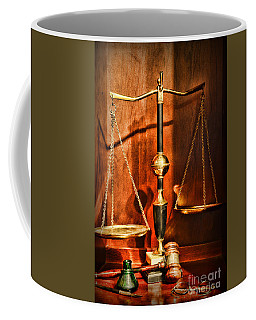 Lawyer - Scales Of Justice Coffee Mug