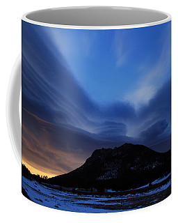 Layered Sunrise Coffee Mug