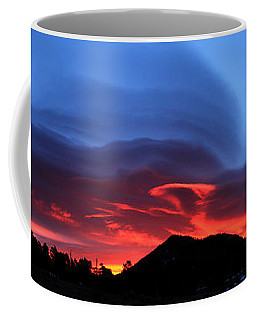 Layers In The Sky - Panorama Coffee Mug