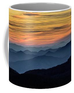 Layers Of The Blue Ridge Mountains Coffee Mug