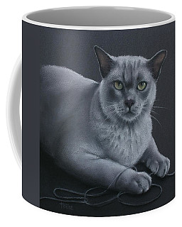 Coffee Mug featuring the pastel Layla by Cynthia House