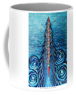 Blue Eight By O4rsom. Rowing Sport Of Champions Coffee Mug