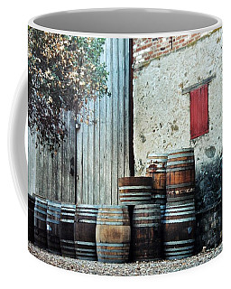 Coffee Mug featuring the photograph Lazy Afternoon At The Winery by Diane Alexander