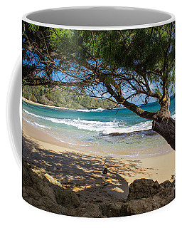 Coffee Mug featuring the photograph Lazy Day At The Beach by Suzanne Luft