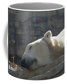 Lazy Polar Bear Coffee Mug