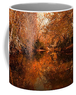 Lazy River Autumn Coffee Mug