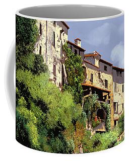 Le Case Sulla Rupe Coffee Mug