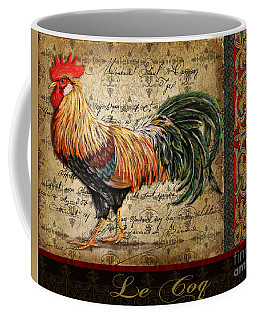 Le Coq-c Coffee Mug by Jean Plout