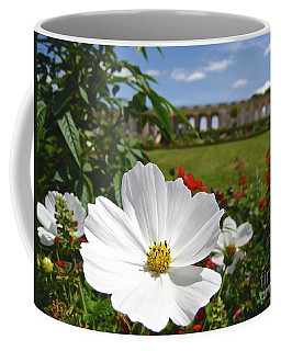 Coffee Mug featuring the photograph Le Fleur De Versailles by Suzanne Oesterling