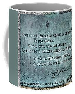 Le Pont Mirabeau Coffee Mug