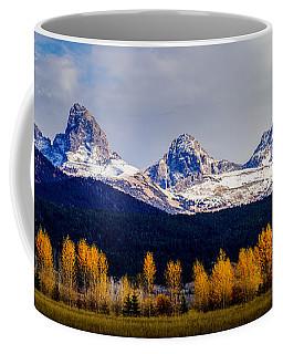 Le Trois Tetons Coffee Mug