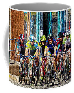 Leader Of The Pack Coffee Mug by Vicki Pelham