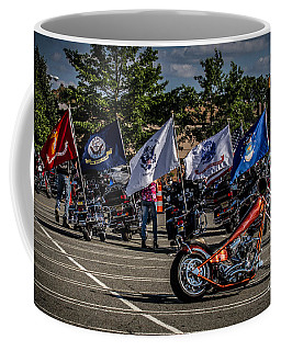 Coffee Mug featuring the photograph Leading The Way by Eleanor Abramson