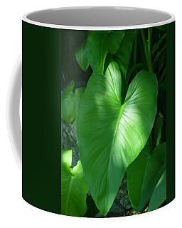 Leaf Heart Coffee Mug