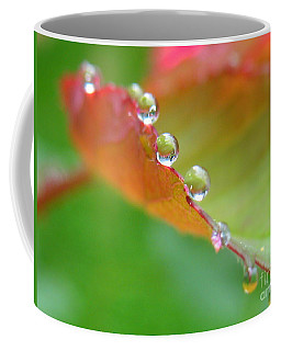 Leaf Pearls Coffee Mug by Patti Whitten