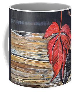 Leaf Shadow Coffee Mug