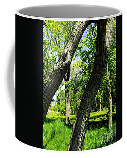 Coffee Mug featuring the photograph Lean On Me by Robyn King