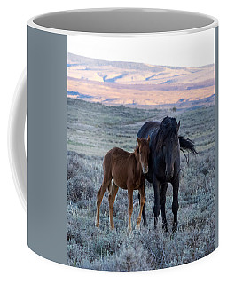 Lean On Me... Ruby And Coal Coffee Mug