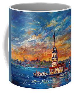 Leanders Tower  Istanbul Coffee Mug