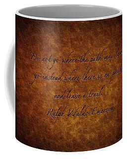 Leave A Trail Coffee Mug by Sennie Pierson