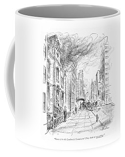 Leave It To The Landmarks Commission! They Think Coffee Mug