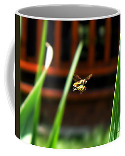 Coffee Mug featuring the photograph Leave No Bee Behind by Thomas Woolworth