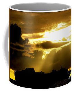 Coffee Mug featuring the photograph Leaving Kona by David Lawson