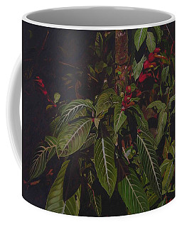 Coffee Mug featuring the painting Leaving Monroe by Thu Nguyen