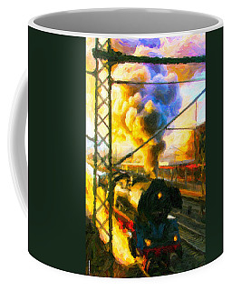 Leaving The Station Coffee Mug