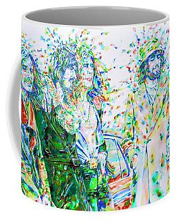 Led Zeppelin - Watercolor Portrait.2 Coffee Mug