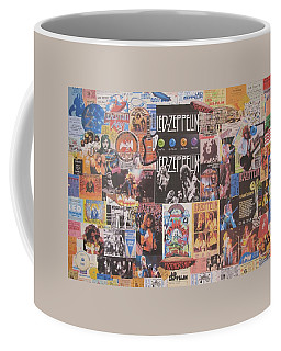 Led Zeppelin Years Collage Coffee Mug