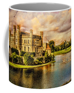 Coffee Mug featuring the photograph Leeds Castle Landscape by Chris Lord
